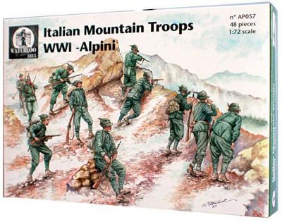 AP057 - Italian Mountain Troops WW1 1/72