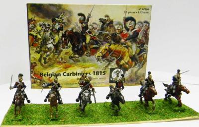AP100 - Belgian Carabiniers 1815 1/72