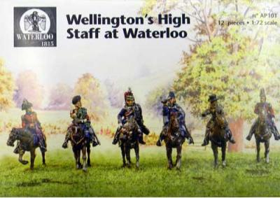 AP101M - Wellington Staff Before the Battle of Waterloo 1/72