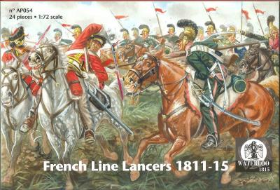 AP054 - French Line Lancers 1/72