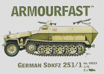 99019 - German Hanomag Sd.kfz 251 1/72