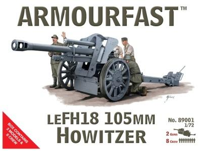 8901 - German LEFH18 105mm Howitzer 1/72