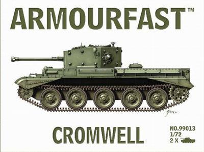 99013 - British Cromwell Tanks 1/72