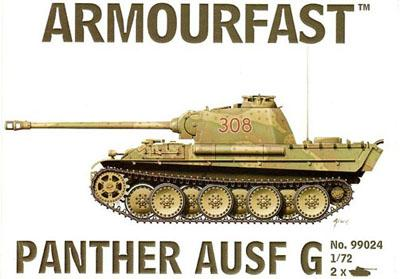 99024 - German Panther Ausf G 1/72