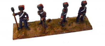 ART2 - French Guard Horse Artillery Crew (x4) 1/72