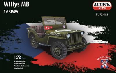 FU72-002 - Willys 1st CIABG 1/72