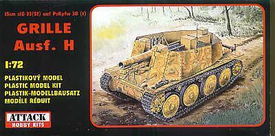 72801 - Pz.Kpfw. 38(t) Grille Ausf.H 1/72