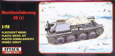 72802 - Pz.Kpfw. 38(t) Munitionsfahrzeug 38(t) 1/72