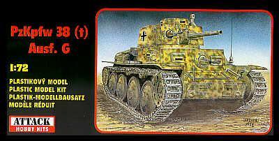 72803 - Pz.Kpfw. 38(t) Ausf.G 1/72