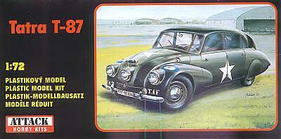 72806 - Tatra T-87 Staff Car 1/72