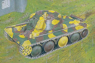 72807 - LTvz.38/Pz.Kpfw 38(t) Ausf.A 1/72