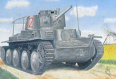 72808 - PzBefWg 38(t) Ausf.B 1/72