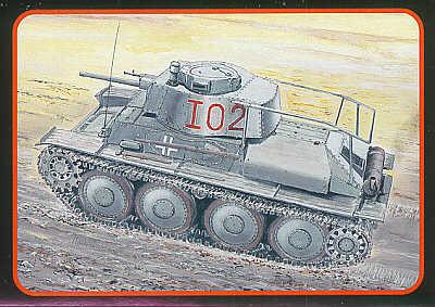 72809 - PzBefWg 38(t) Ausf.F 1/72