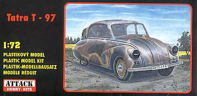 72811 - Tatra T-97 staff car 1/72