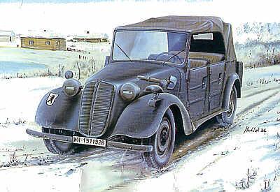72812 - Tatra T-57K Kubelwagen 1/72