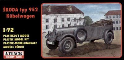 72813 - Skoda type 952 jeep 1/72