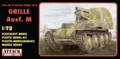 72814 - Pz.Kpfw. 38(t) Grille Ausf.M 1/72