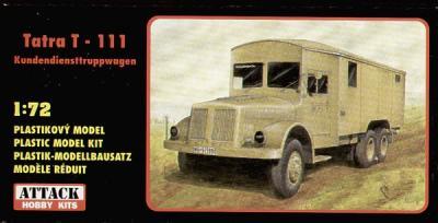 72817 - Tatra T-111-8000 Kundediensttruppwagen 1/72