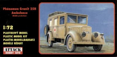 72818 - Phanomen Granit 25H Ambulance 1/72