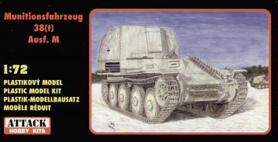 72821 - Munitionsfahrzeug 38(t) Ausf.M 1/72