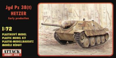 72830 - Jagdpanzer 38(t) Hetzer - early version 1/72
