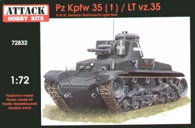 72832 - Pz.Kpfw.35(t)/LT vz 35 1/72