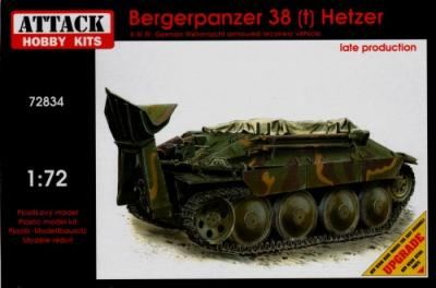 72834 - Bergepanzer 38(t) HETZER - Late production 1/72