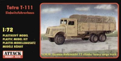 72836 - TATRA T-111 Einheits fuhrerhaus 1/72