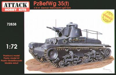 72838 - PzBefWg 38(t) 1/72