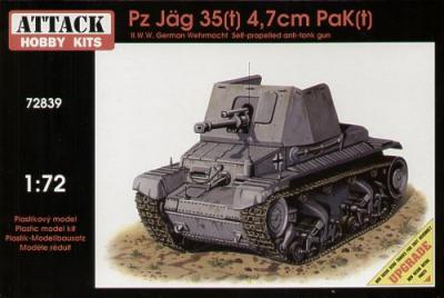 72839 - Pz.Jag 35(t) 4.7 cm 1/72