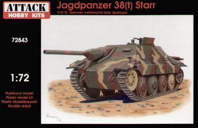 72843 - Jagdpanzer 38(t) Starr. 1/72