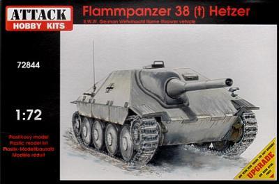 72844 - Flammpanzer 38(t) Hetzer 1/72