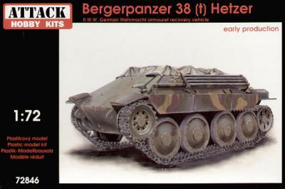 72846 - Bergepanzer 38(t) Hetzer 1/72