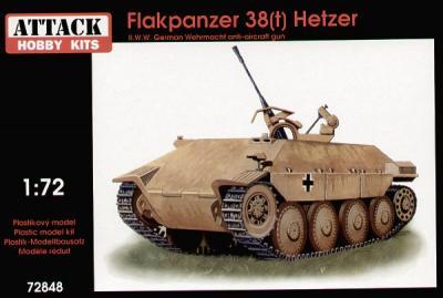 72848 - Flakpanzer 38(t) Hetzer 1/72