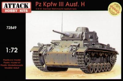72849 - Pz.Kpfw.III Ausf.H 1/72