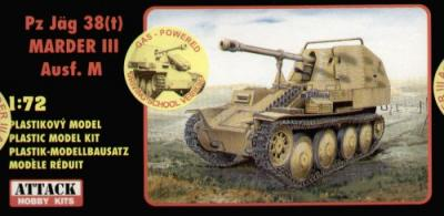 72863 - Marder III gas-powered 1/72