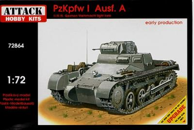 72864 - Pz.Kpfw.I Ausf.A - early production 1/72