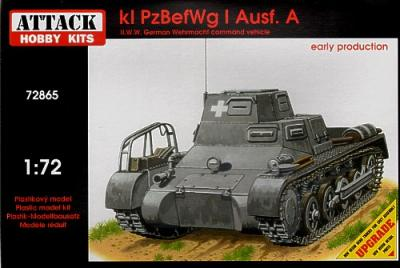 72865 - Kl Pz.BefWg Ausf.A - early production 1/72
