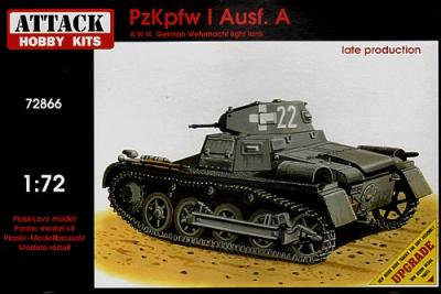 72866 - Pz.Kpfw.I Ausf.A - late production 1/72