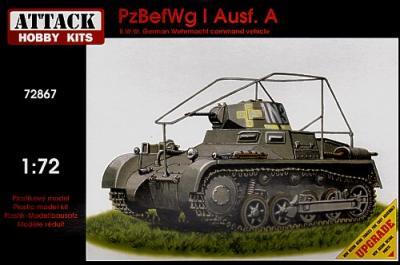 72867 - Pz.Kpf.Wg I Ausf.A radio tank 1/72