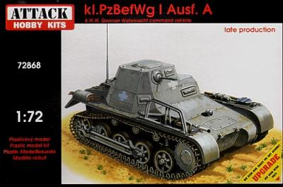 72868 - Kl.PzBef.Wg I Ausf.A - late production 1/72