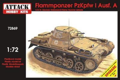 72869 - Pz.Kpfw.I Ausf.A Flammpanzer 1/72