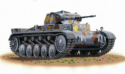 72870 - Pz.Kpfw.II Ausf.C 1/72