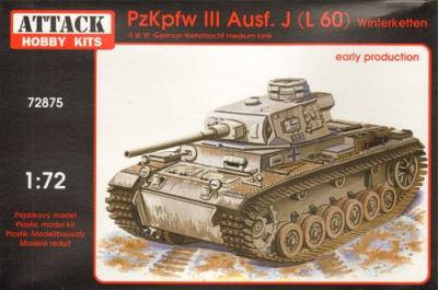 72875 - Pz.Kpfw.III Ausf.J./ L60 Early production 1/72