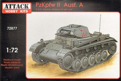 72877 - Pz.Kpfw.II Ausf.A 1/72