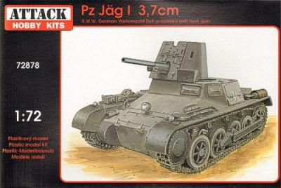 72878 - Panzer Jaeger I 3.7cm self propelled gun 1/72