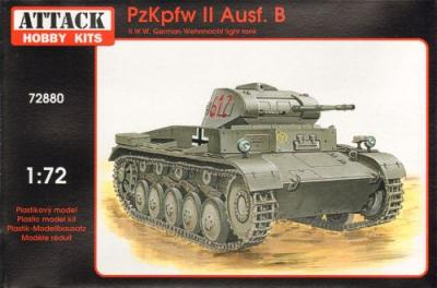 72880 - Pz.Kpfw.II Ausf.B 1/72