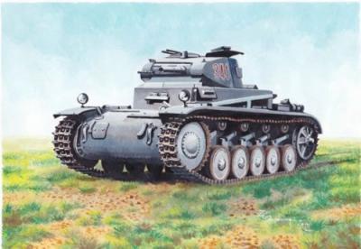 72885 - Pz.Kpfw.II /3.7 cm 1/72