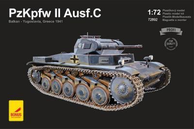 72892 - Pz.Kpfw.II Ausf.C 1/72