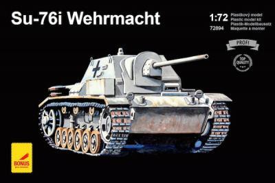 72894 - SU-76I Wehrmacht 1/72